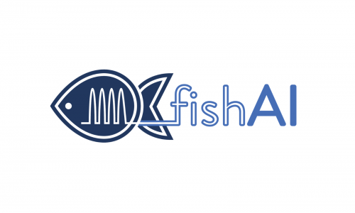 "Il logo del progetto  ""Fish AI - Developing an artificial intestine for the sustainable farming of healthy fish"""