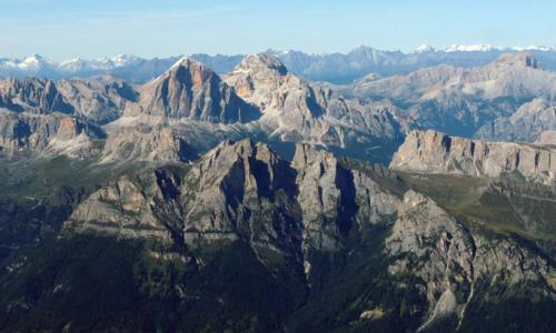 The Triassic successions of the Dolomites, the area where fossil reefs were recognized for the first time in the second half of 19th century - Foto P. Giannolla