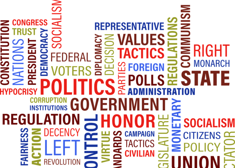 Scienza, politica e cittadinanza - Word cloud